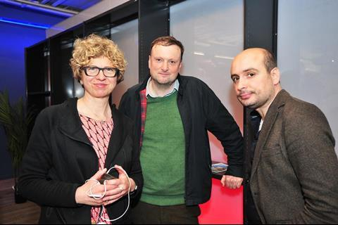 Lizzie Francke, Andy Starke, Peter Strickland